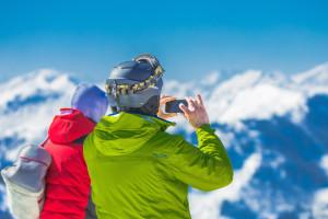 Verzekerd tijdens skivakantie